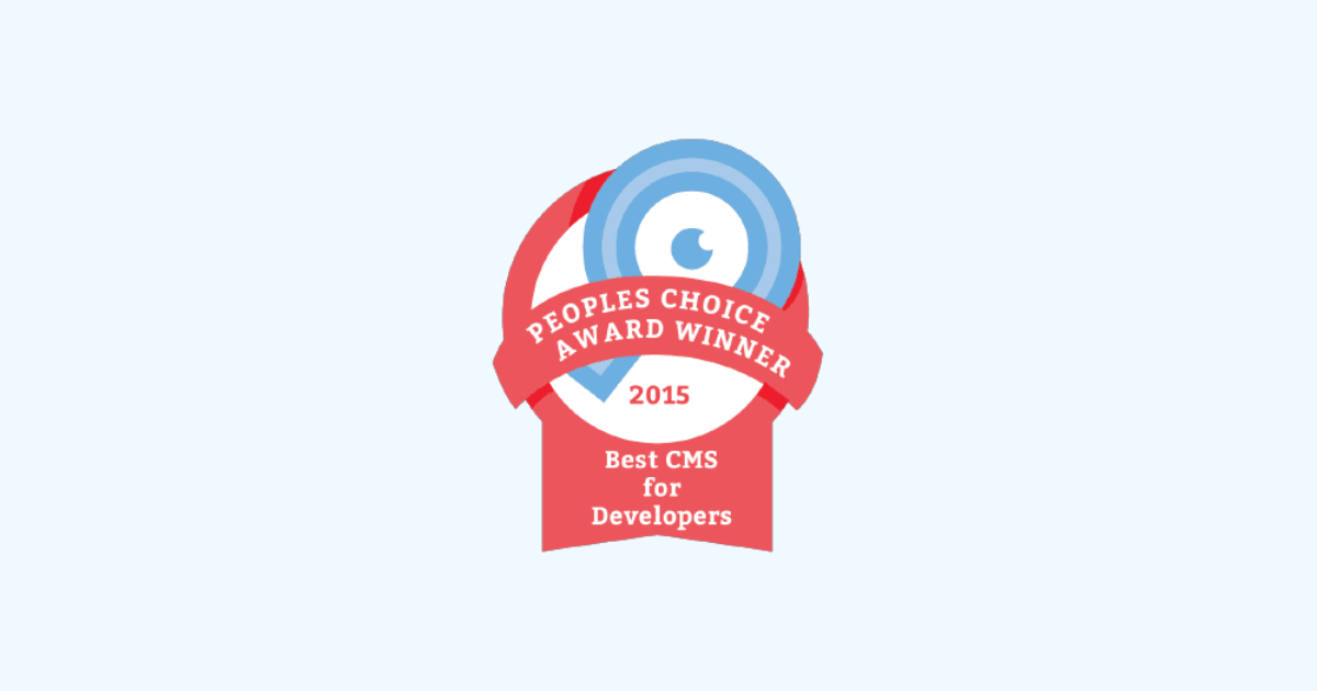 Craft CMS Wins Best CMS for Developers | Craft CMS